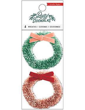 Busy Sidewalks wreaths