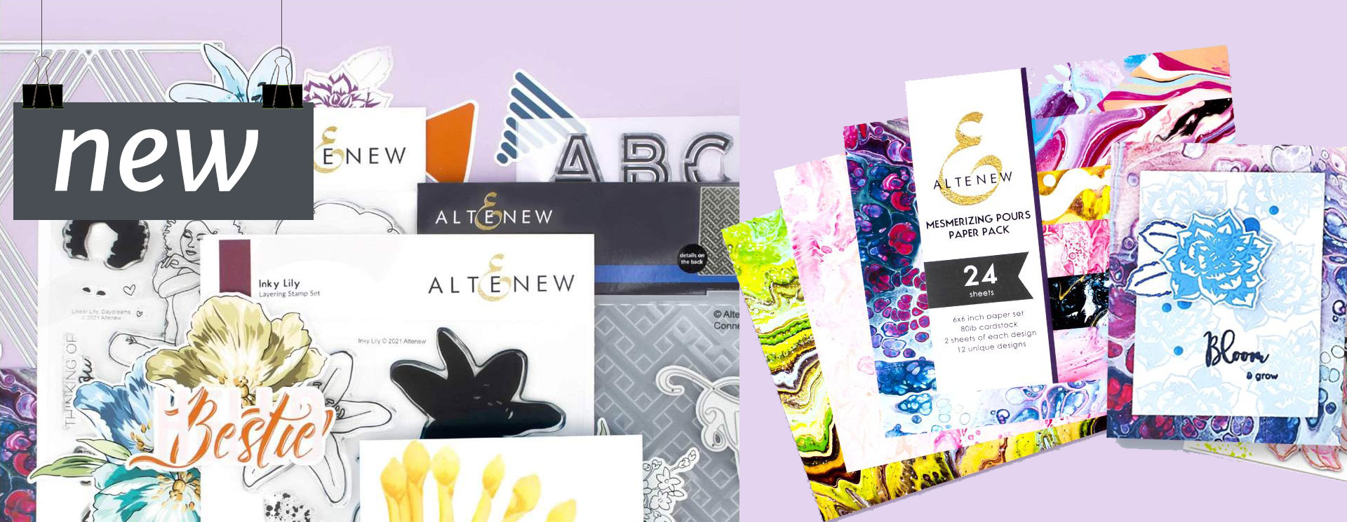 Altenew Modern & Edgy Collection
