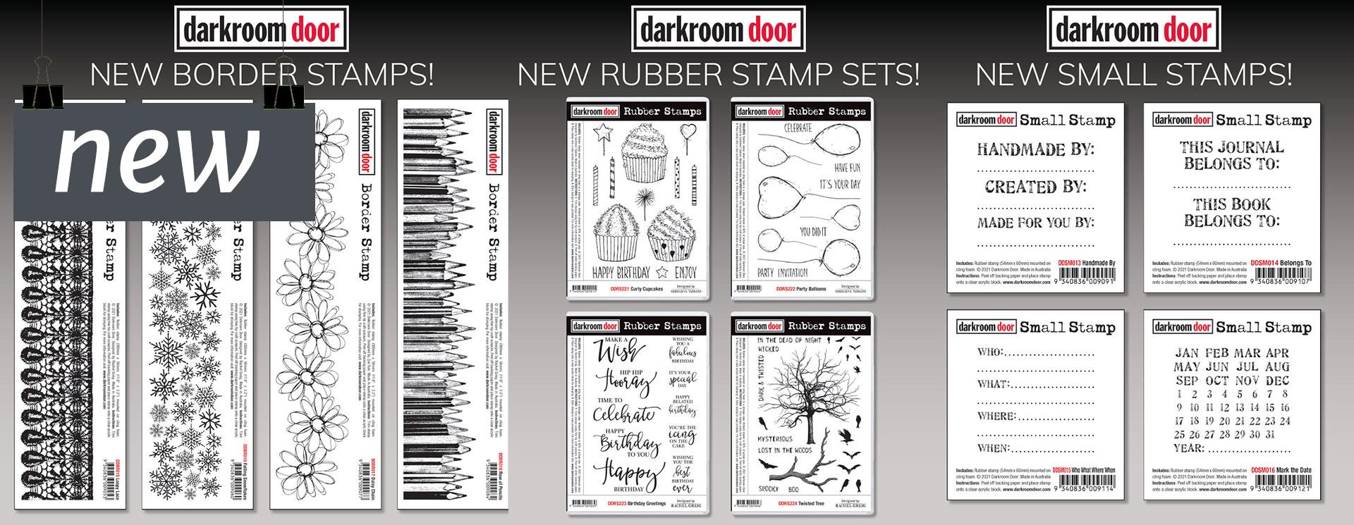 Darkroom Door New Stamps and Stencils