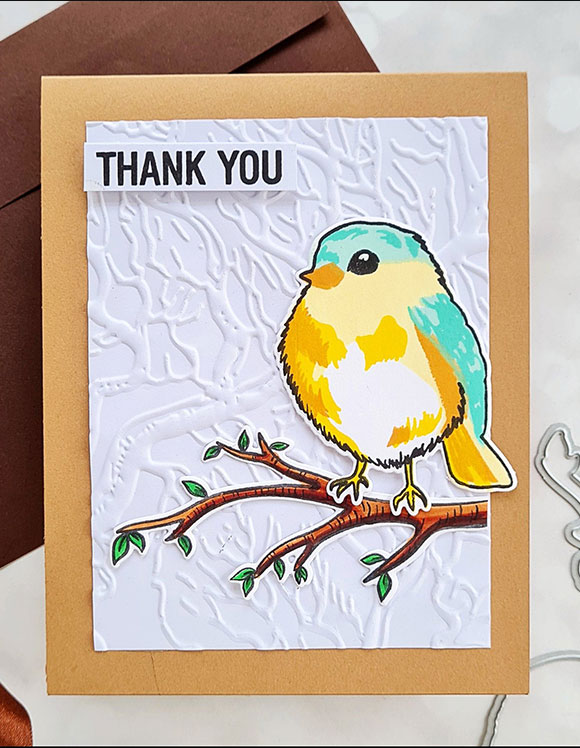 Altenew Thanks and Blessings Card Sample