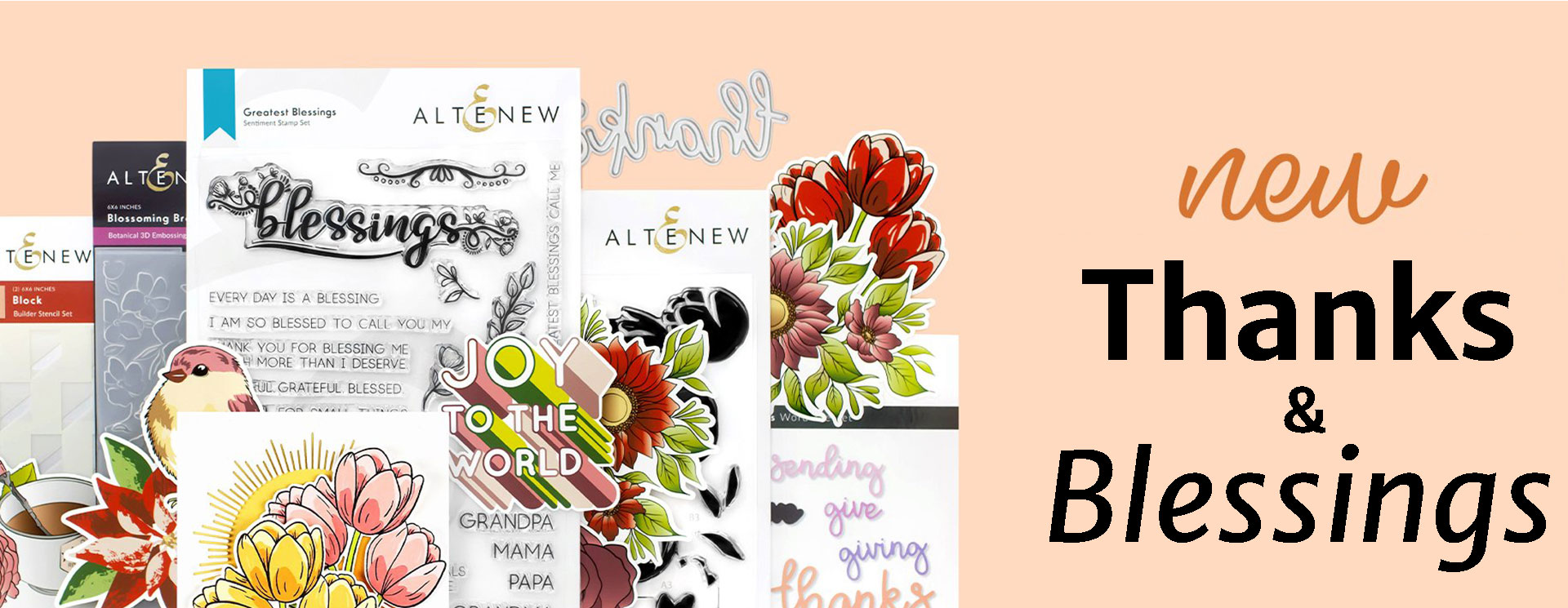 Altenew Thanks and Blessings Collection