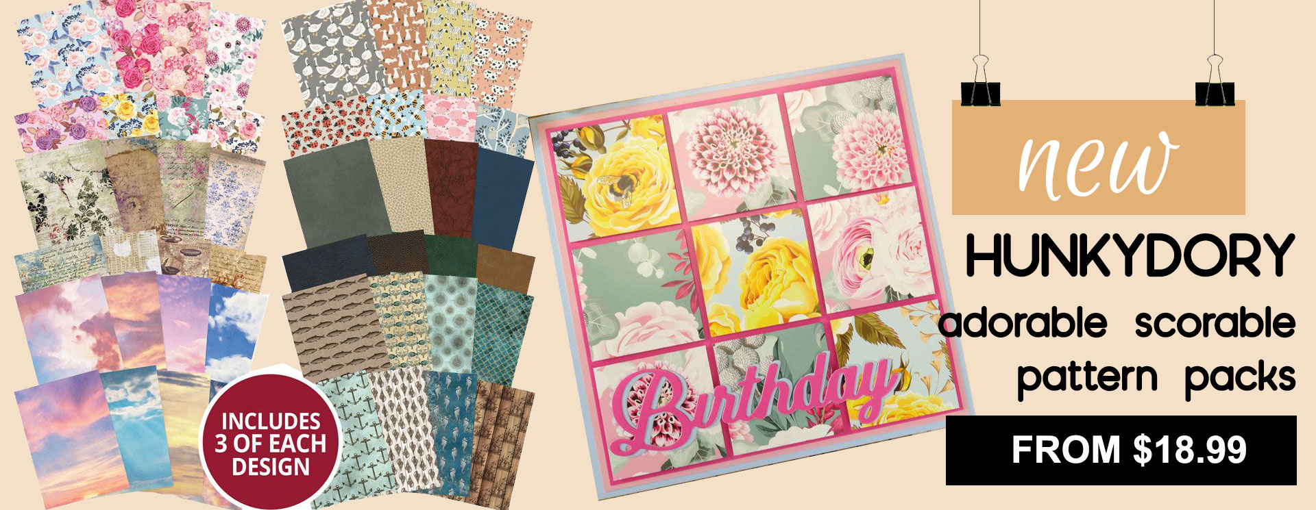 Adorable Scorable Pattern Packs