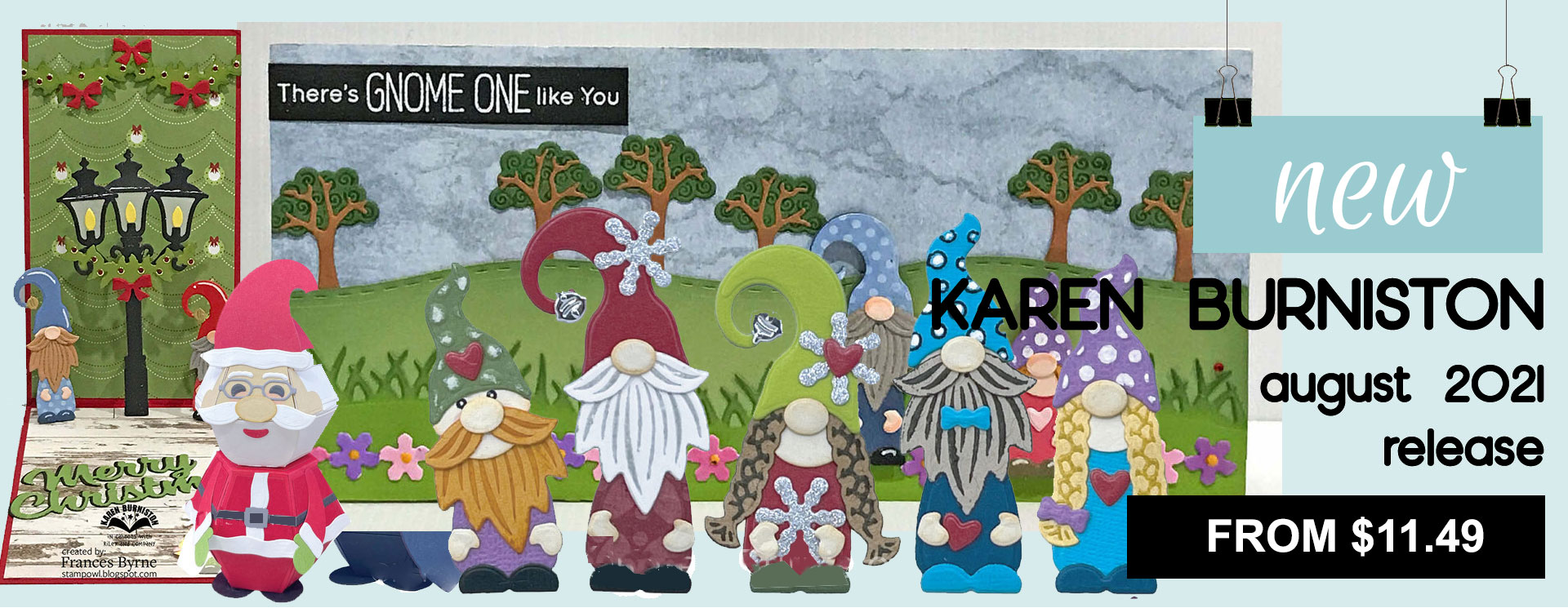 Karen Burniston New Products