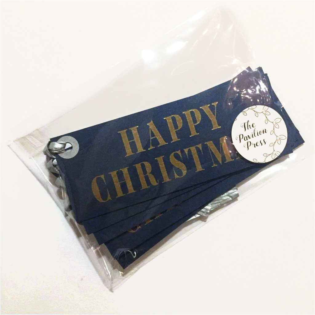 Happy Christmas Labels