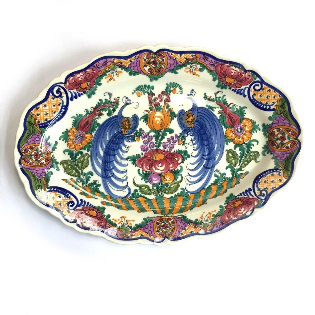 Large Greek oval platter