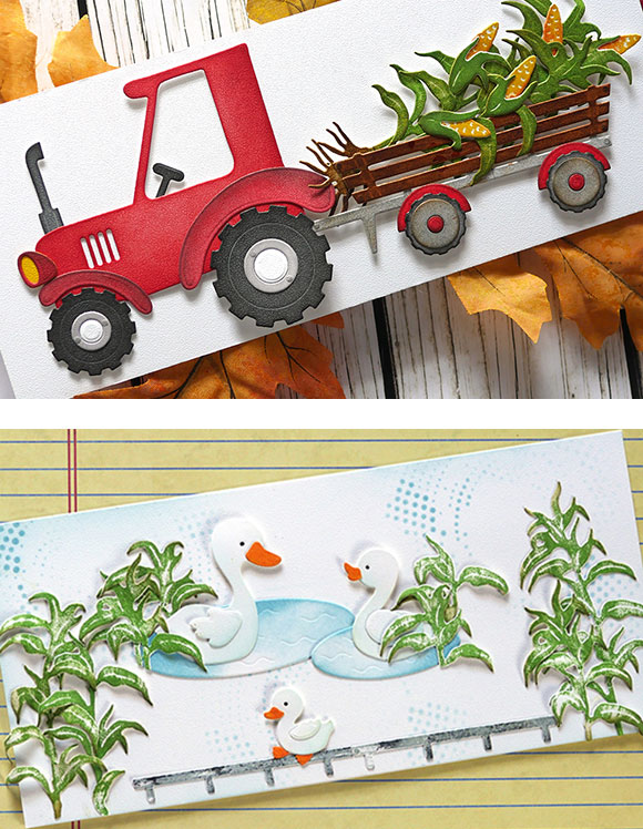Farm themed projects - tractor and ducks