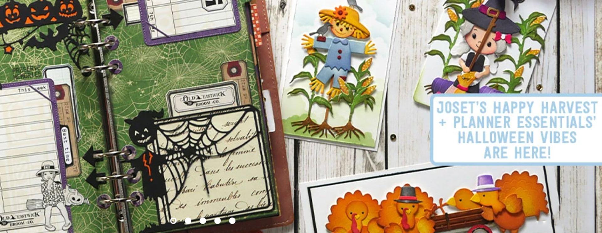 Sample Cards from Elizabeth Craft Designs