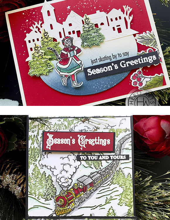 Two Sample Greeting Cards