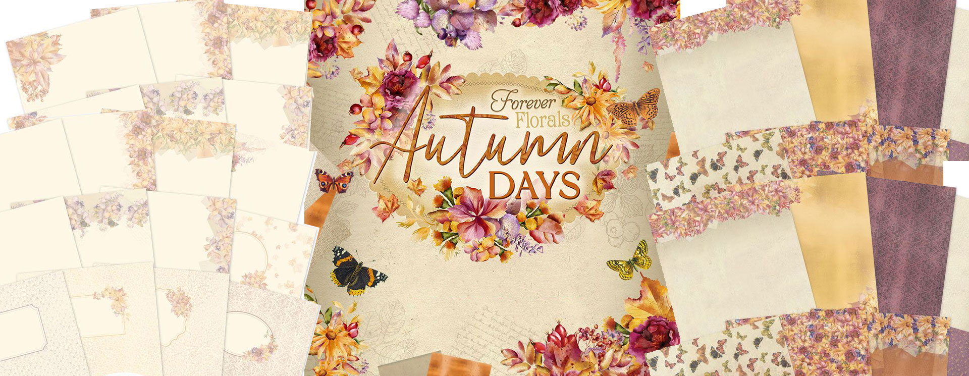 Hunkydory Forever Florals Autumn Days