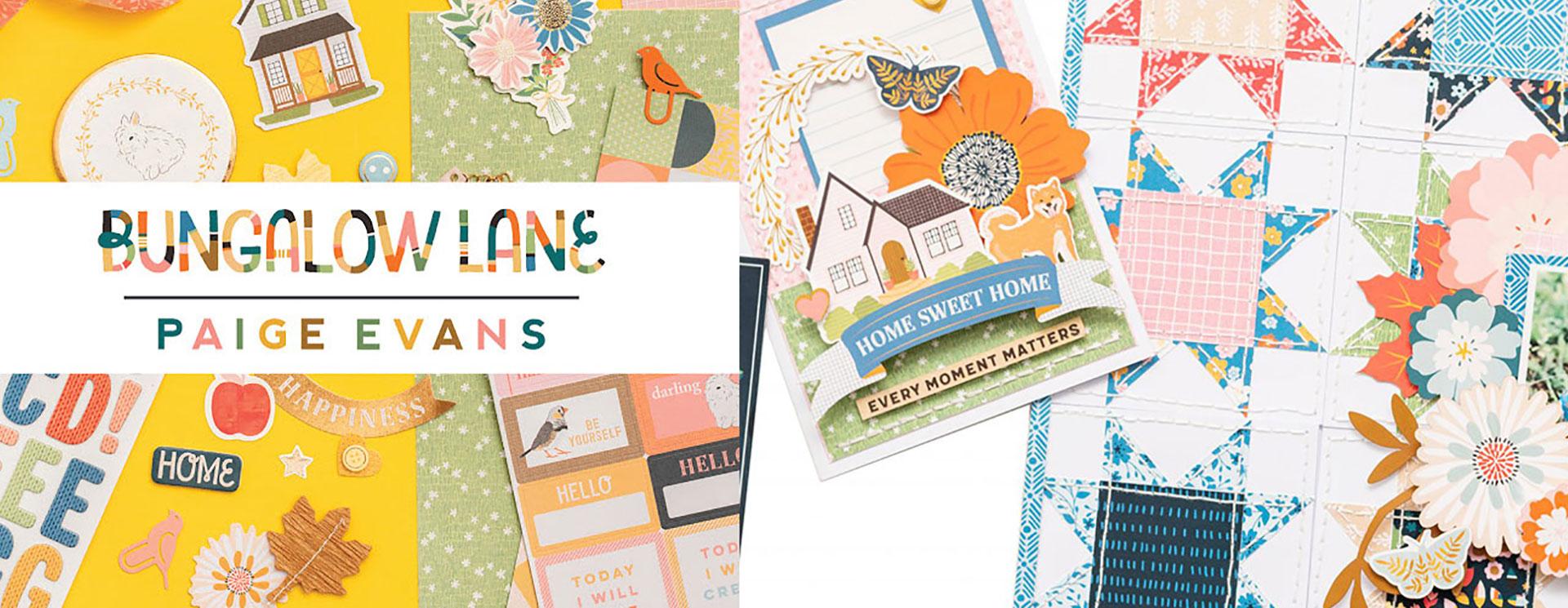 Bungalow Lane Papercraft Collection