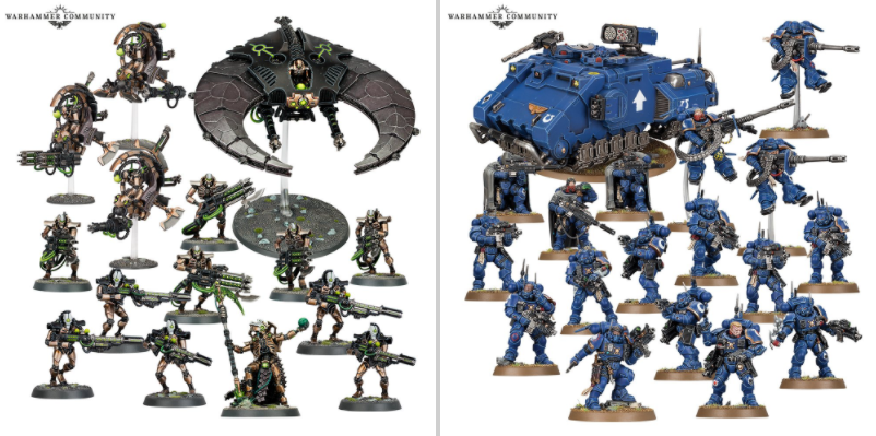 Necron Combat Patrols<br>