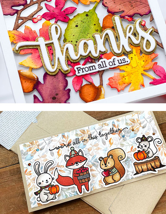 Honey Bee Stamps Card