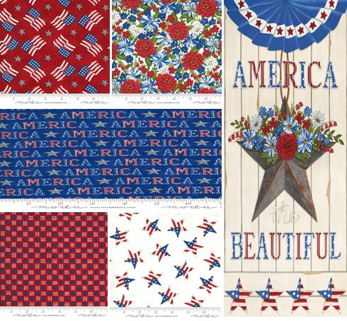 """<span style=""""font-size: 30px;"""">America the Beautiful from Moda</span><br>"""