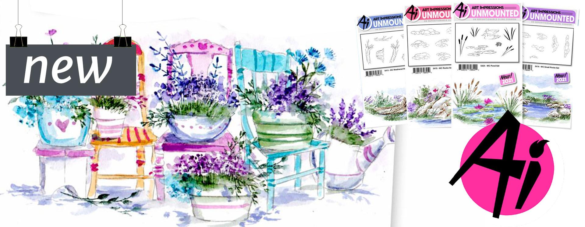Art Impressions Watercolours<br>