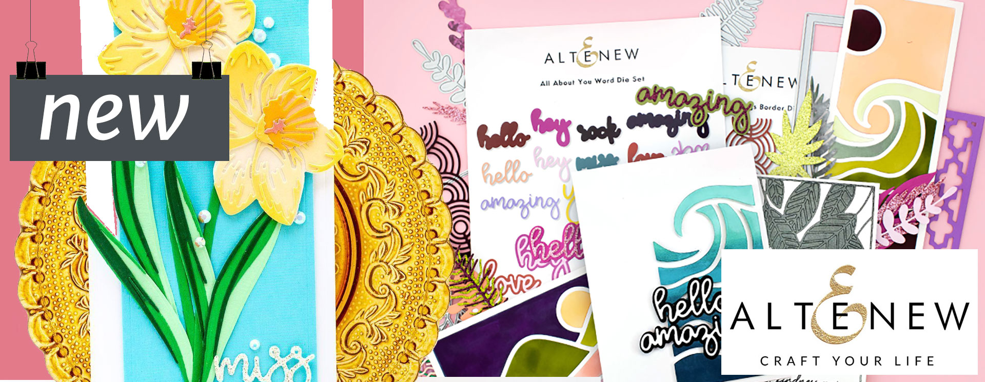 Altenew Summer Adventure Collection