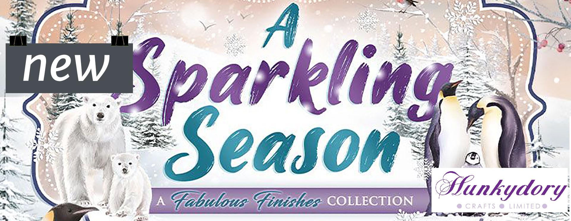 Hunkydory A Sparkling Season Collection