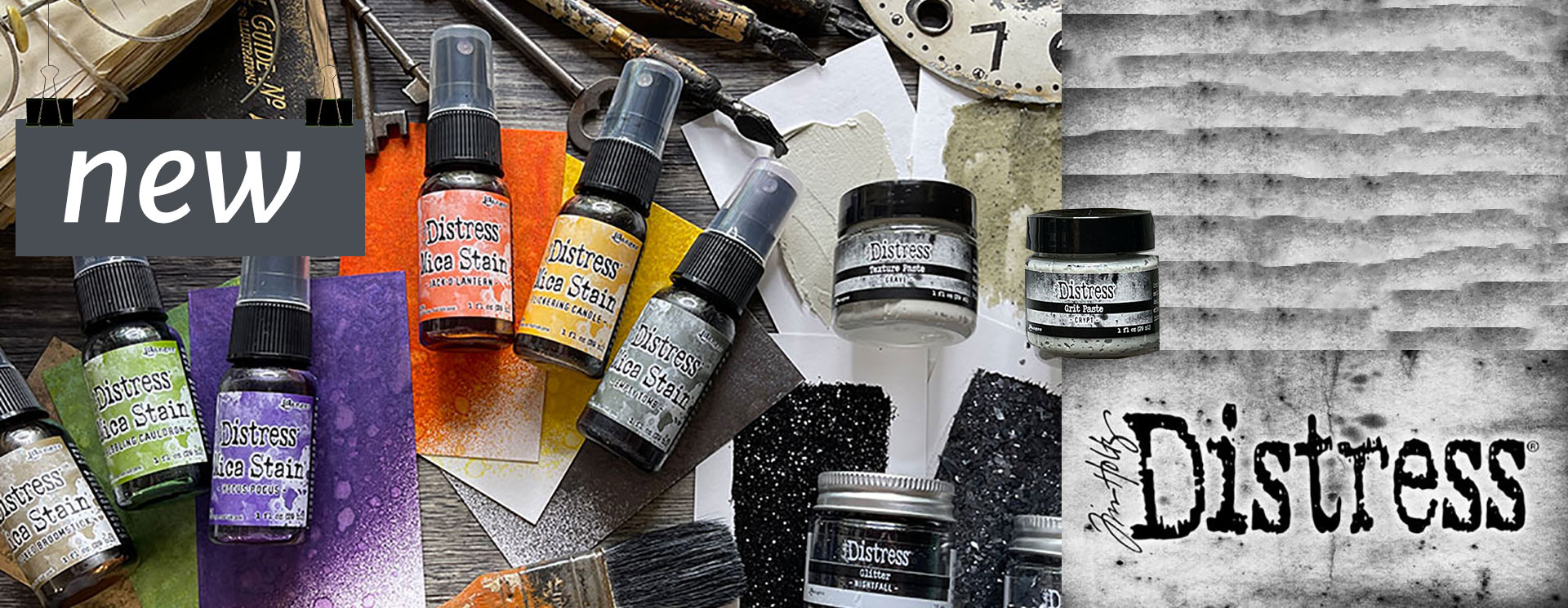 Tim Holtz Limited Edition Halloween Products