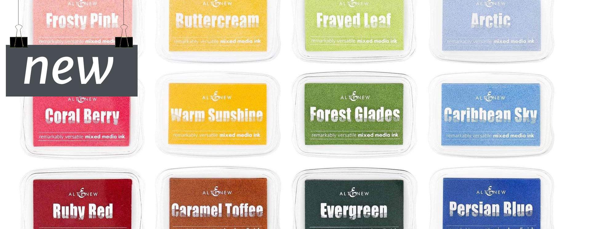 Altenew : Pigment Ink Pads<br>