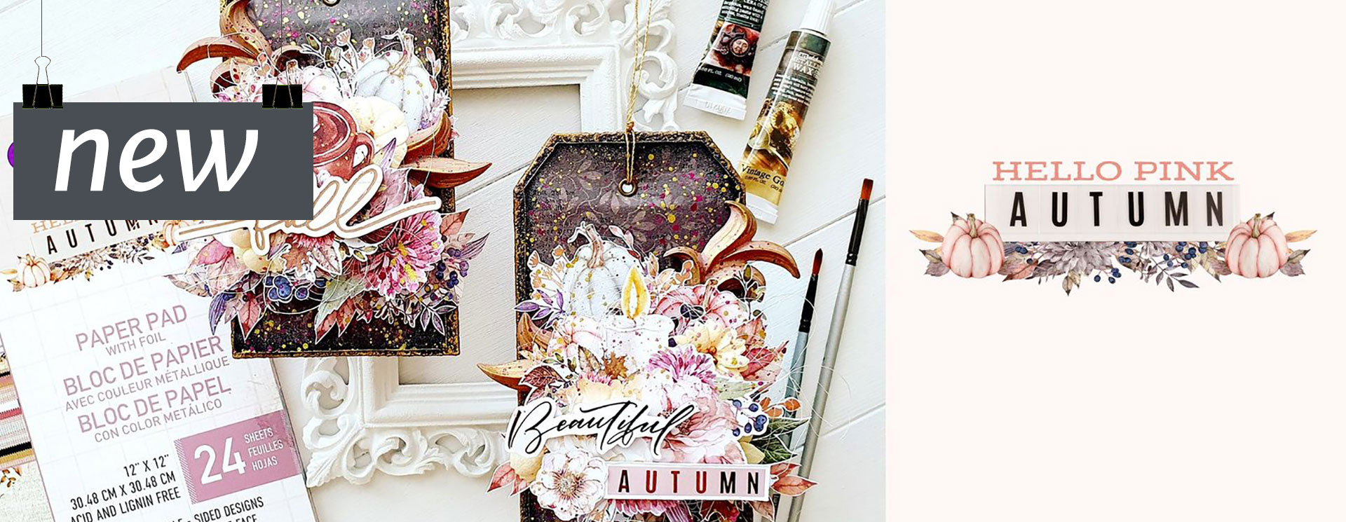 Prima : Hello Pink Autumn<br>