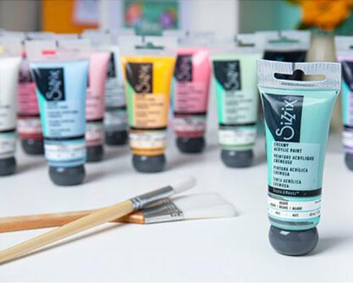 Sizzix : Acrylic Paints<br>