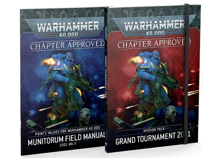 Warhammer 40K Chapter Approved 2021 Edition<br>