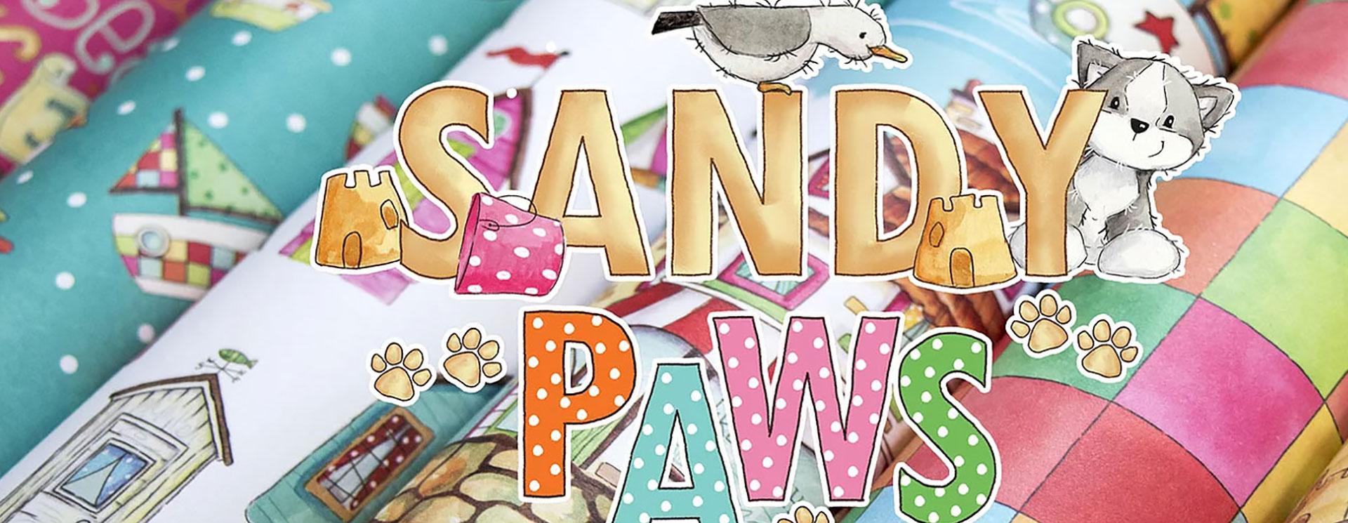 Craft Consortium : Sandy Paws<br>