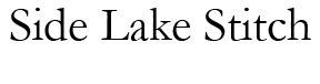 Side Lake Stitch